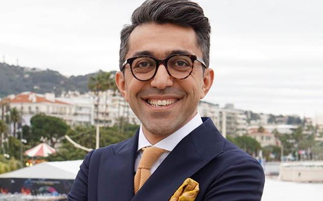 Ali May, presentador del evento.