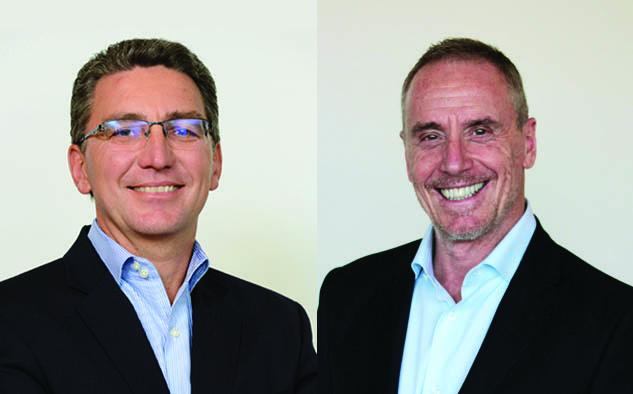 Carlos Moltini, CEO de Telecom Argentina y Diego Lerner, presidente de The Walt Disney Company Latin America.