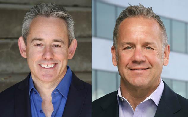 Jonathan Huberman, presidente de Software Acquisition Group y Clint Stinchcomb, presidente y CEO de CuriosityStream Inc.