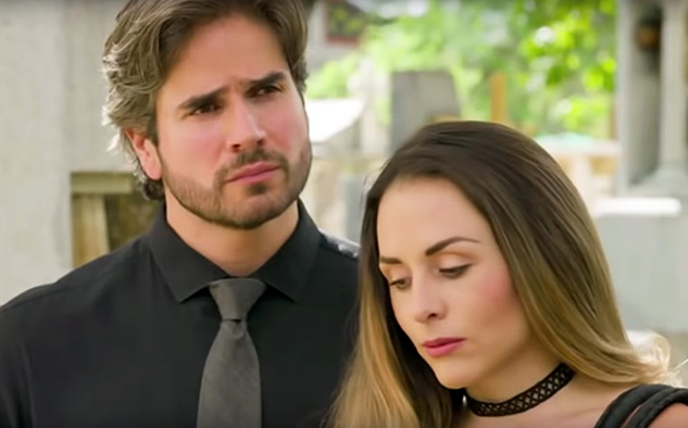 Zuria Vega y Daniel Arenas dan vida a la carismática pareja.