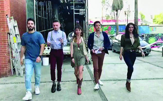 El elenco del sitcom. (Foto: @Natalia_Tellez)