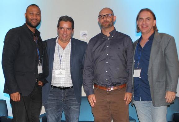 Kevin Sharpley, Carlos López, Pablo López y Andy Schefter