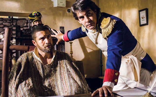 """Dirigida por Caupolicán Ovalles, """"Muerte en Berruecos"""" sigue los pasos del capitán Alejandro Godoy tras la pista al asesino del Mariscal Antonio José de Sucre."""