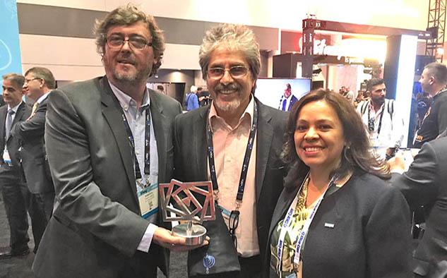 En el marco de la feria NAB, el caso fue galardonado con un PRODU Awards Tecnología 2019 como mejor proyecto tecnológico del año.