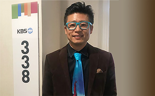 Sebastian Shin, director de marketing de KBS America.