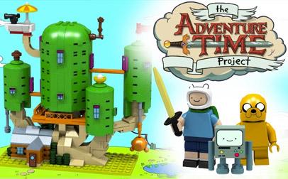 Adventure Time llegará de la mano de Lego