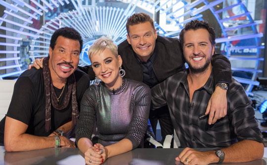 Jurados y presentador de la nueva edición de American Idol por ABC