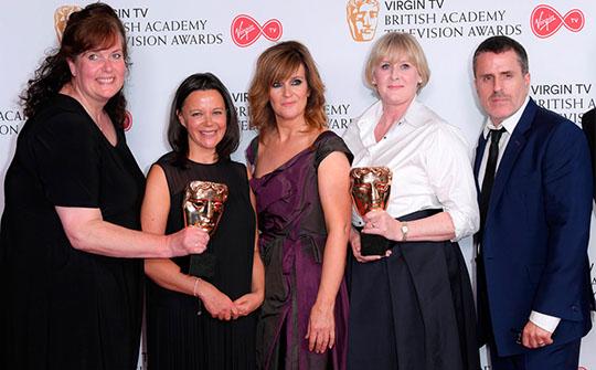 Happy Valley, de la BBC, uno de los grandes ganadores de la noche en los premios de la TV británica