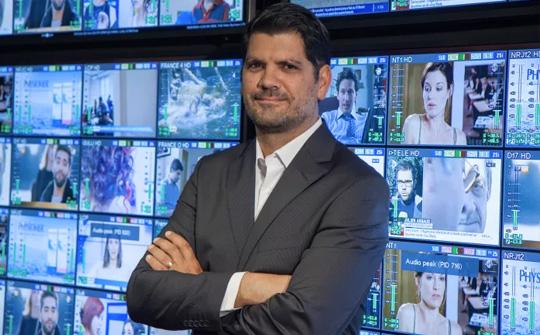 Bruno Cattan, jefe de la división de Terminales y Sistemas de Eutelsat