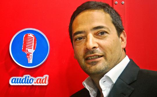 Carlos Cordoba, managing director de Audio.Ad.