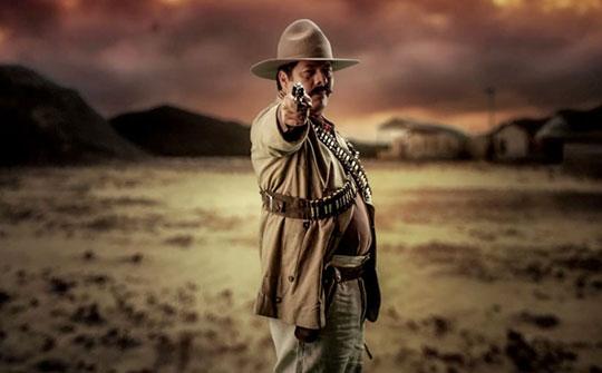 Anoc Leaño en el papel de Pancho VIlla, Discovery