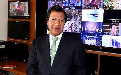 Elías Rodríguez, director general Técnico y de Operaciones de Televisa