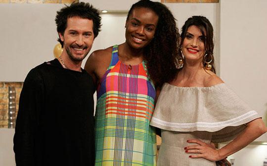 Esquadrão da Moda, formato de la BBC What Not to Wear en Brasil (foto: Cauana Fernandes/SBT)