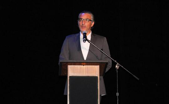 Edgar Spielmann, este lunes, desvelando las novedades de FNG Latin America.