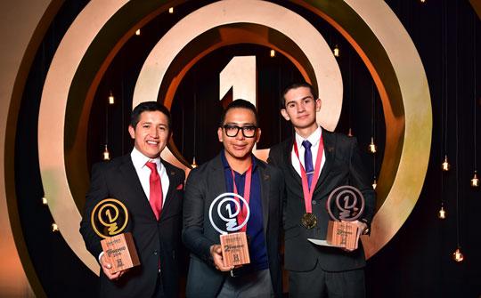 Los ganadores de la temporada 3 de 'Una Idea para Cambiar la Historia'.