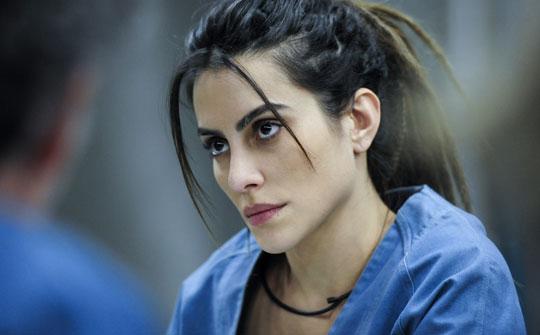 Actriz brasileña Cleo Pires en la producción de Globo Supermax (Foto: Globo/Estevam Avellar)