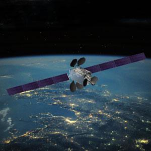 Render de Intelsat 33e, el segundo de la serie Intelsat Epic