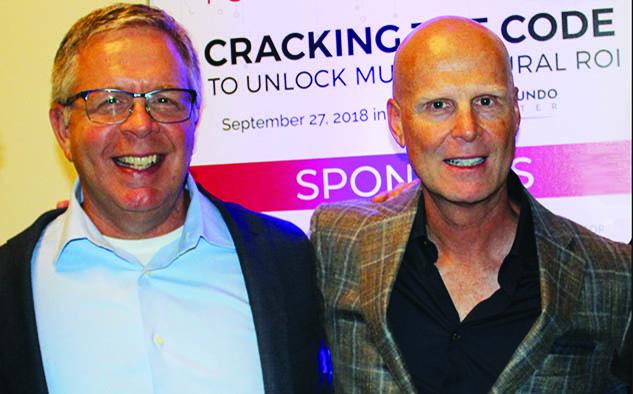 Chuck Mohler y Tom Mohler, Presidente y CEO respectivamente de Olympusat.