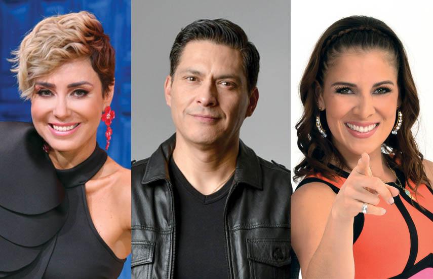 Carmen Muñoz, Juan Barragán y Adianez Hernández, nuevos anfitriones en programación vespertina de Azteca Uno.