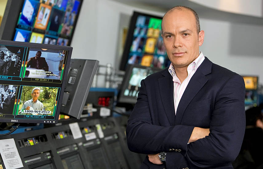 Fernando Muñiz, nuevo jefe de Televisa Internacional.