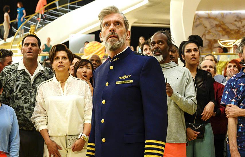 Avenue 5, nueva serie de HBO, protanizada por Hugh Laurie, ahora disponible para los hogares abonados a The Cable.