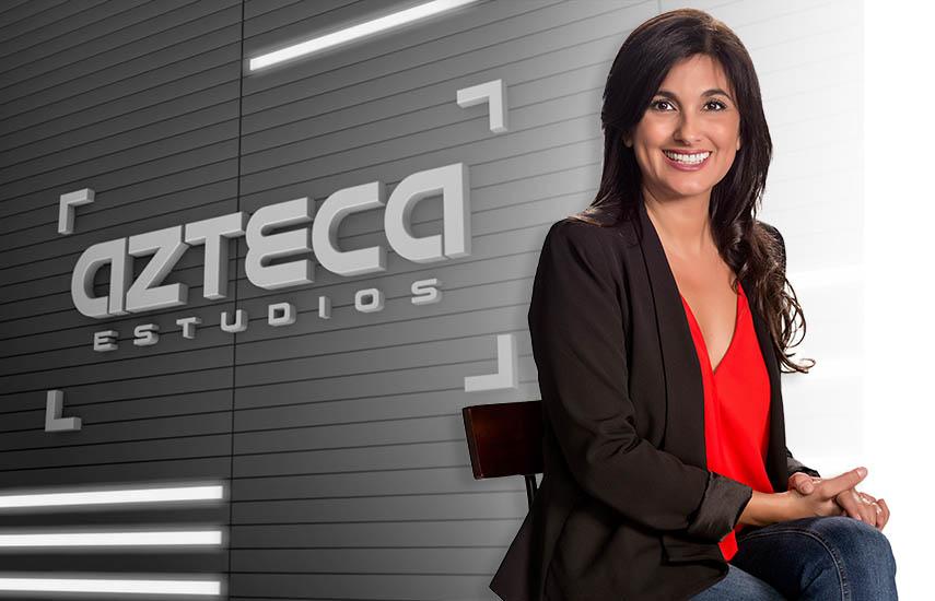 Patricia Jasin, vicepresidentade Azteca Estudios y TV Azteca Internacional.