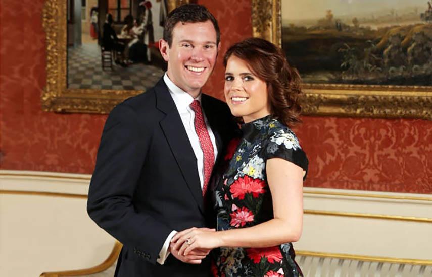 Eugenia de York, hija del príncipe Andrés y Sarah Ferguson, y Jack Brooksbank, protagonistas de la nueva boda real.