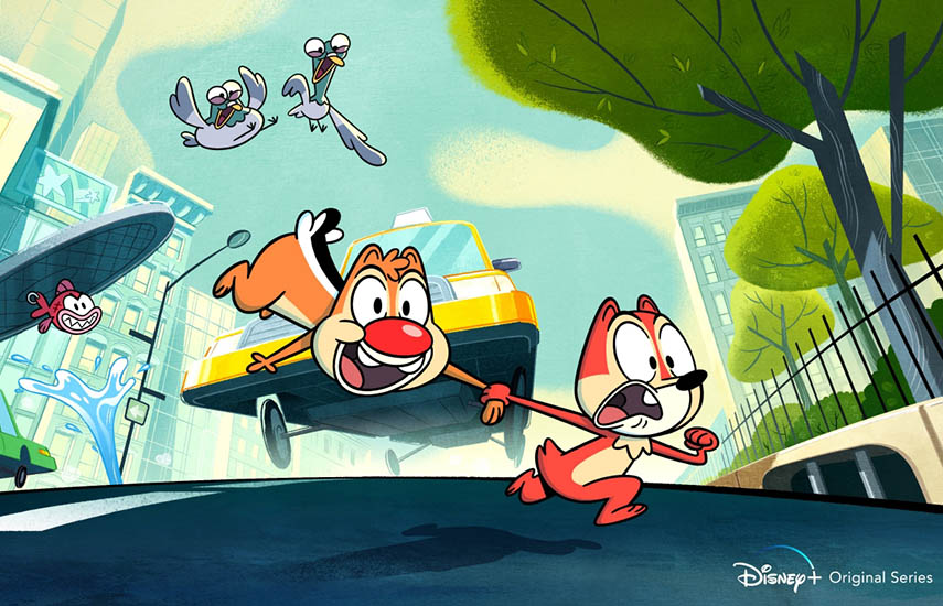 """""""Chip 'n' Dale"""" está actualmente en producción y listo para su lanzamiento mundial como Disney + Original."""