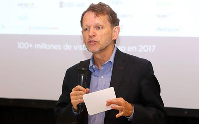 David Royle, VP ejecutivo y director de Programación de Smithsonian Channel.