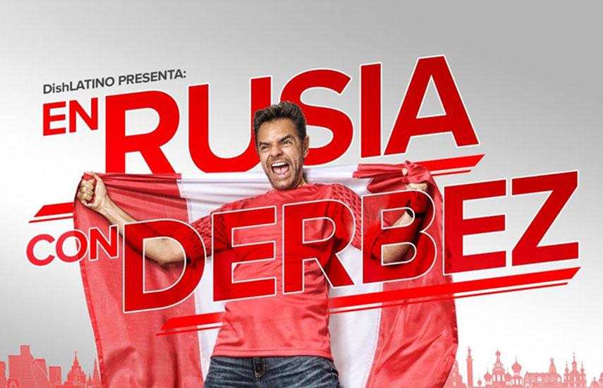 En los últimos 20 años, Derbez se hizo conocido en México por sus coloridas coberturas de los más importantes eventos deportivos