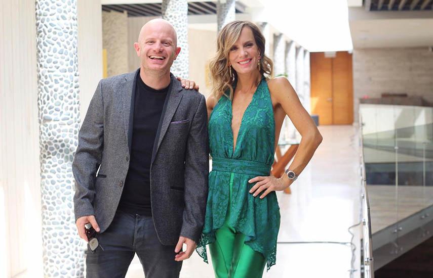 El conductor mexicano Facundo y la estrella de la televisión chilena, Diana Bolocco conducirán el reality show.