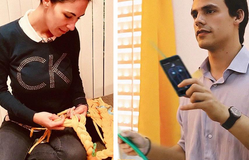 María Belén di Gregorio y Facundo Noya, ambos de Argentina, están entre los proyectos finalistas del concurso.