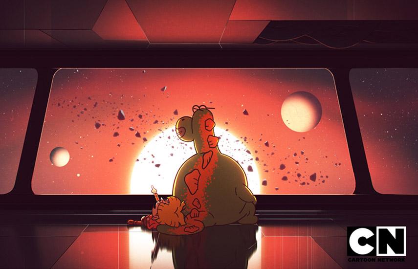 La trama sigue a Elliott, un niño humano que se encuentra viviendo en una nave espacial llena de alienígenas de todas partes del universo.