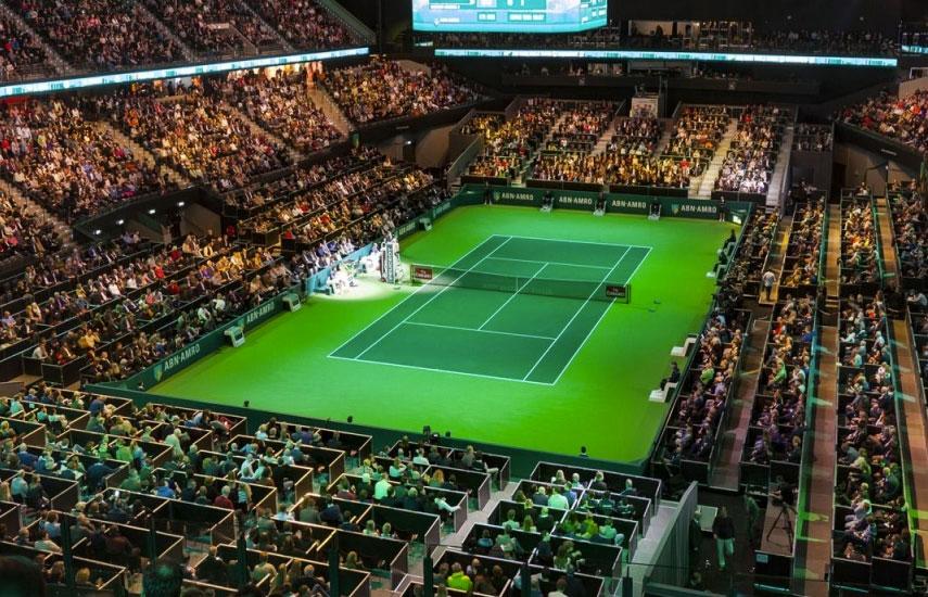 El nuevo acuerdo comienza este mismo lunes 12, con la apertura del primer evento de la temporada de 2018 del ATP World Tour 500: el torneo ABN AMRO World Tennis Tournament en Rotterdam, Holanda.
