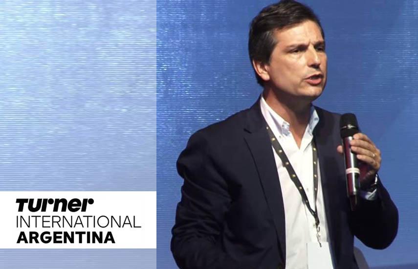Felipe De Stefani, gerente general de Turner Internacional Argentina.