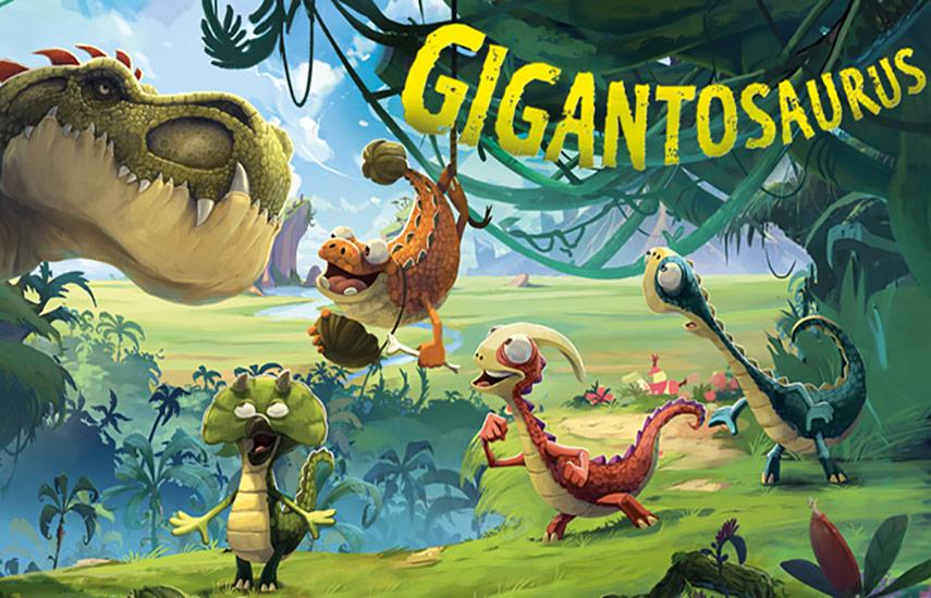 Gigantosaurus está basada en el libro bestseller del renombrado autor e ilustrador galés Jonny Duddle, publicado por la casa editorial británica Templar.