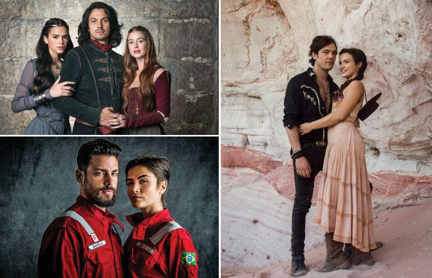 """Las telenovelas """"Salve al Rey"""" y """"El Otro lado del Paraíso"""", y la serie """"Bajo Presión"""" platos fuertes de Globo en MipTv 2019."""