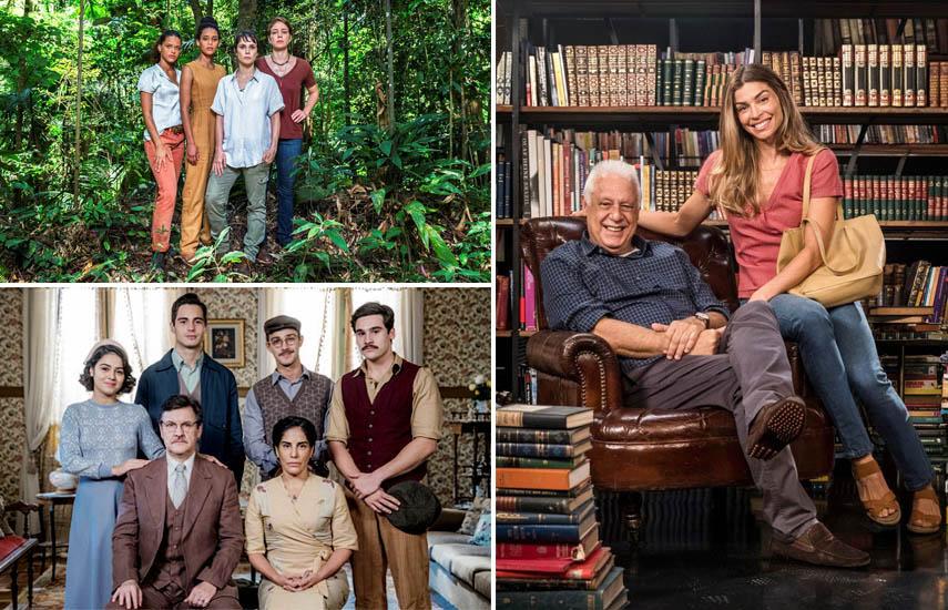 Aruanas, Éramos seis y Suerte de Vivir, tres producciones que forman parte de la vasta oferta de seriados de la OTT.