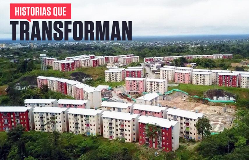 El contenido de 30 minutos fue emitido el 18 de abril pasado en Colombia, en el que se destaca al país por las soluciones dadas a los problemas de urbanismo, vivienda y acceso a servicios públicos.