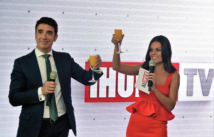 Directivos de ¡Hola! TV, con Marcos Pérez, CEO y General Manager al frente, eligieron México para hacer un balance del primer lustro.