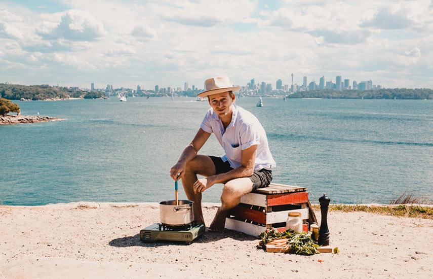"""""""Bondi Harvest with Guy Turland"""" presenta al chef australiano y su mezcla única de cocina saludable y fresca"""