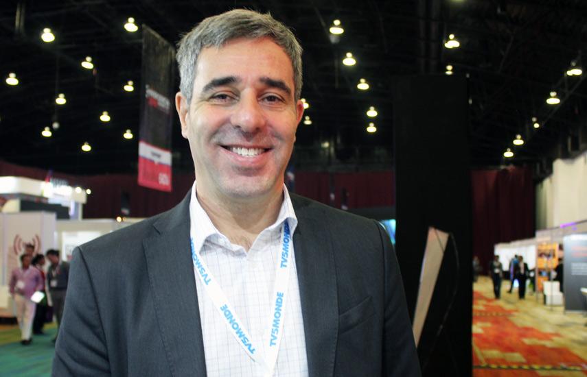 Javier López Casella, gerente general para América Latina de Zee Mundo.