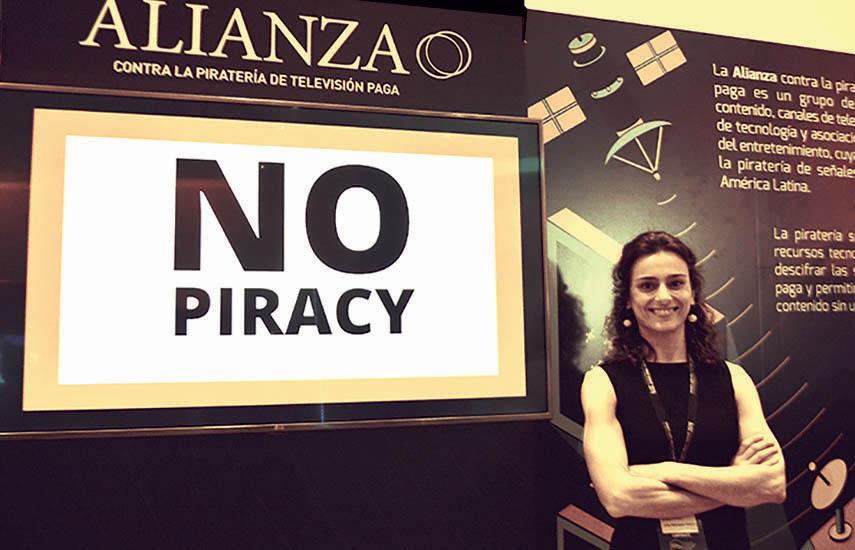 Julia Rodríguez-Kábana Parras, analista en Seguridad en la división Anti-Piracy Sevices de Nagra Kudelski.