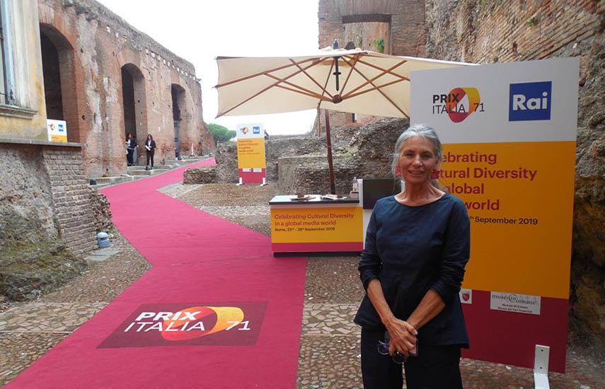 Karina Laterza, Secretaria General de Prix Italia.