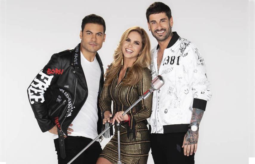 La nueva edición de La Voz Kids tiene la conducción de Yuri y su panel de coaches está integrado por Lucero, Carlos Rivera y el cantante español, Melendi.