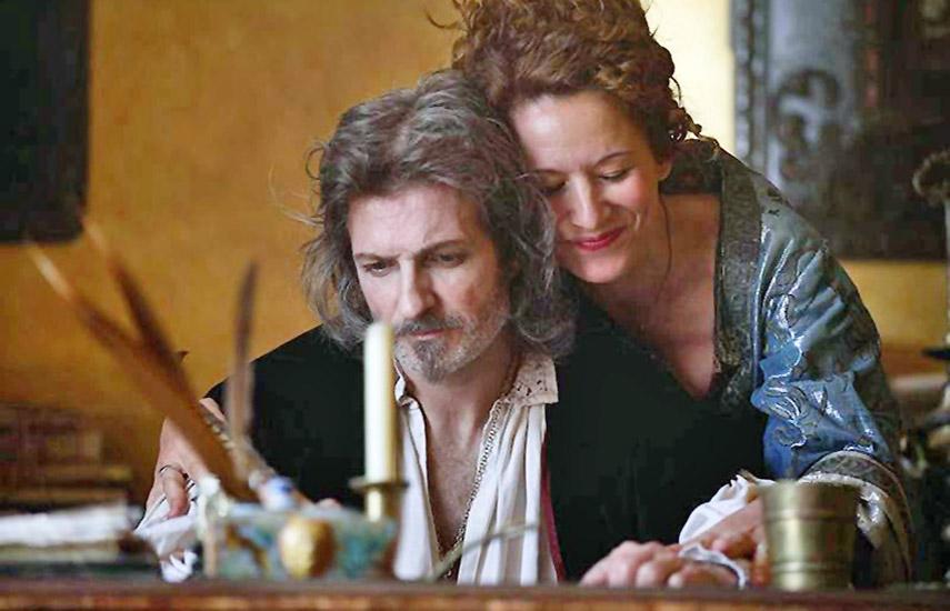 Protagonizada por Jesús Olmedo y Sara Rivero, el film aborda la relación del poeta y dramaturgo más importante del Siglo de Oro español. (Prensa RTVE)
