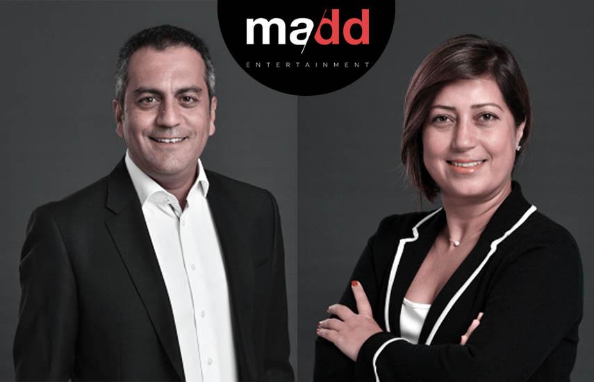Ateş İnce, director general y Özlem Özsümbül, nueva directora de Ventas Internacionales de Madd Entertainment..