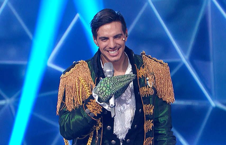 """Vadhir Derbez, """"Camaleón"""", ganador de esta primera edición del reality show."""