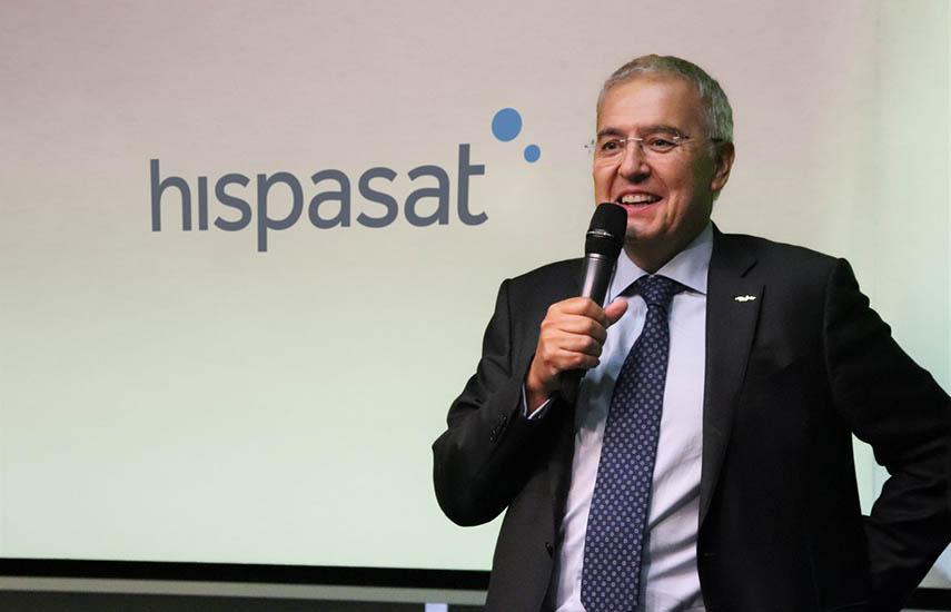 Miguel Ángel Panduro, consejero delegado de Hispasat.
