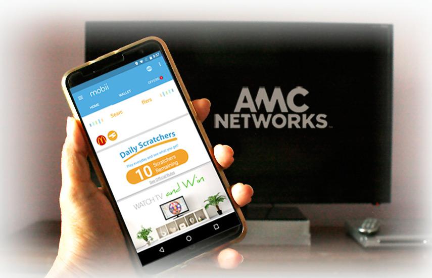 A través de la app Mobii los televidentes reciben una variedad de cupones, puntos y compensaciones en sus smartphones.